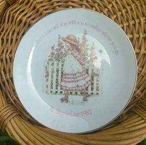 VTG 1982 Holly Hobby Mother's Day Plate